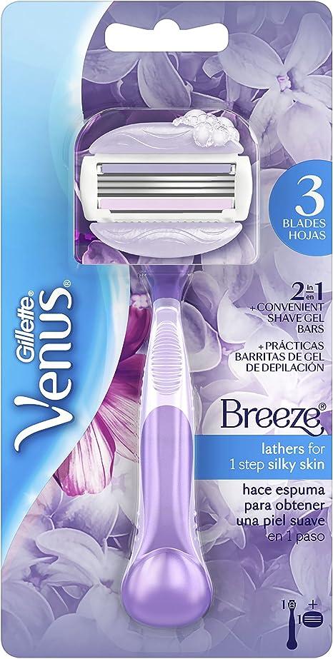Gillette Venus Breeze - Maquinilla para mujer: Amazon.es: Salud y ...
