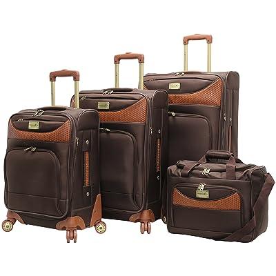 Caribbean Joe Castaway 4-Piece Spinner Luggage Set