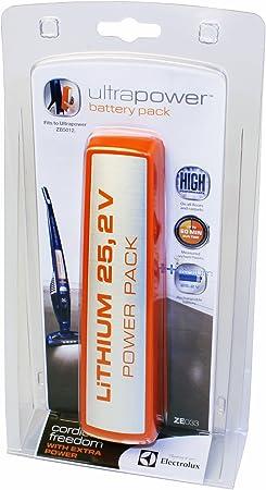 Electrolux ZE033 - Batería de 25,2 V para aspirador escoba Electrolux UltraPower ZB5012: Amazon.es: Hogar
