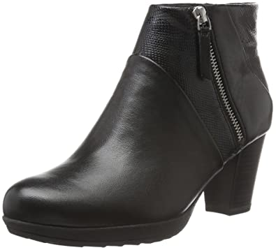 Tamaris 25813, Botines Femme, Noir (Black Leather), 38 EU