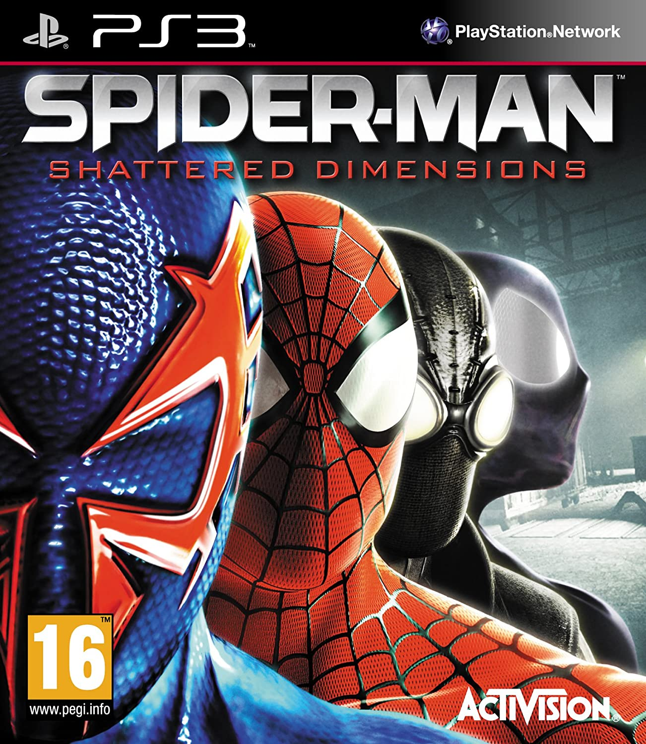 Import Anglais]Spider-Man Shattered Dimensions Game PS3: Amazon.es: Videojuegos