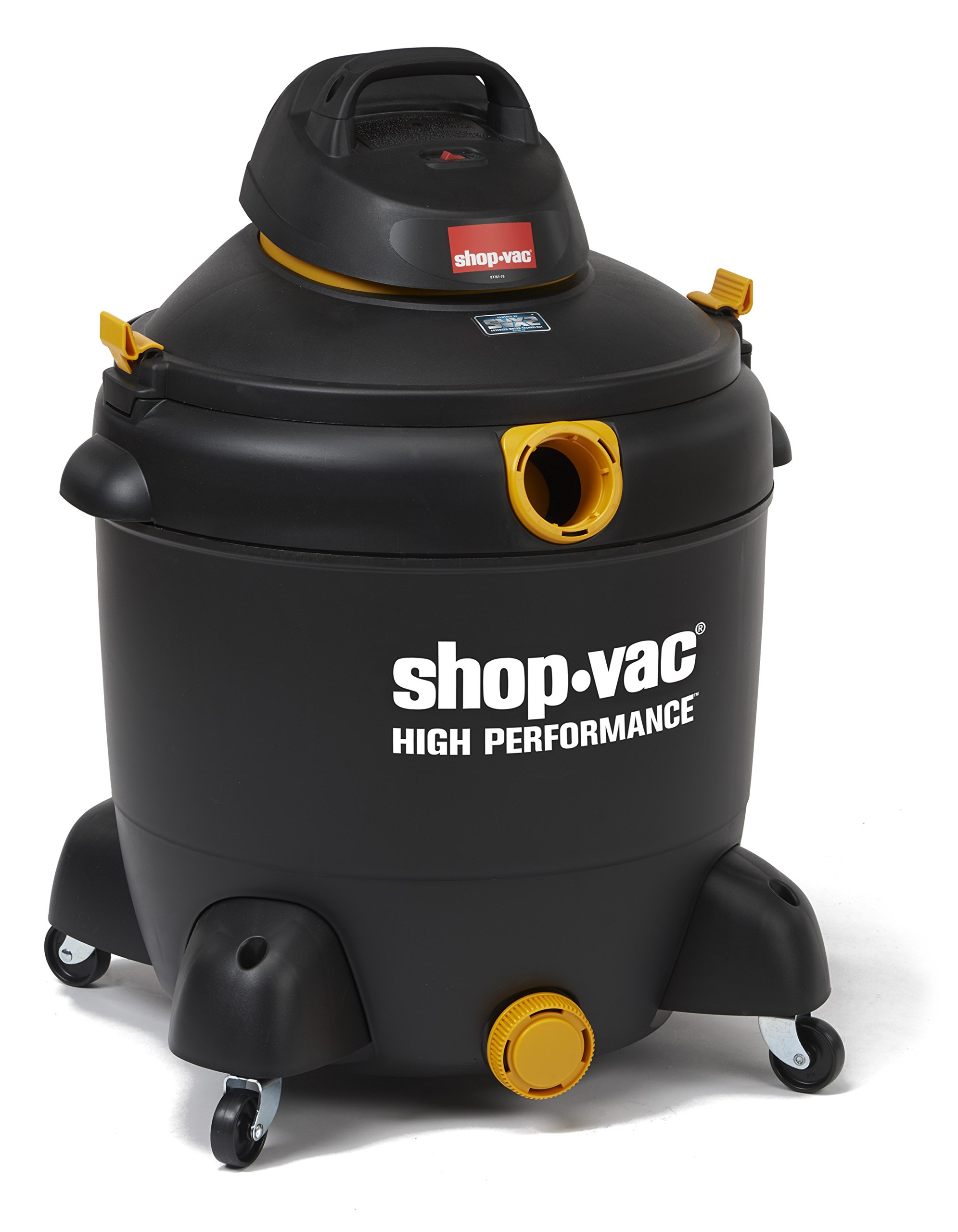 Shop-Vac 5987500 20 gallon 6.5 Peak HP High Performance Series Wet Dry Vacuum Black/Yellow by Shop-Vac