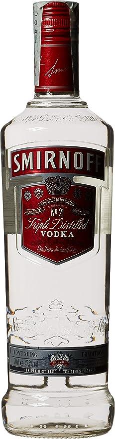Smirnoff Red Vodka - 70 cl: Amazon.es: Alimentación y bebidas