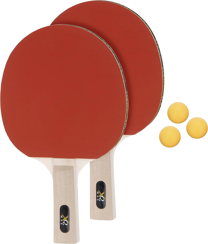 Net Juego de Tenis de Mesa Unisex Rojo, XQ Max Table Tennis Set Incl