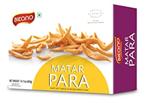 Bikano by Bikanervala Matar Para Indian Snack, 400g