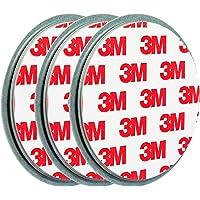 ECENCE Rauchmelder Magnethalter 3 Stück Selbstklebende Magnethalterung für Rauchmelder Ø 70mm schnelle & sichere Montage ohne Bohren und Schrauben für alle Feuermelder und Rauchwarnmelder 45020108003