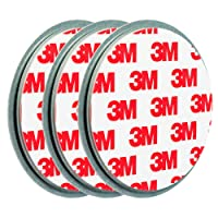 ECENCE 3X Fixation pour détecteur de fumée Aimant Support magnétique Plaquette aimantée 45020108003