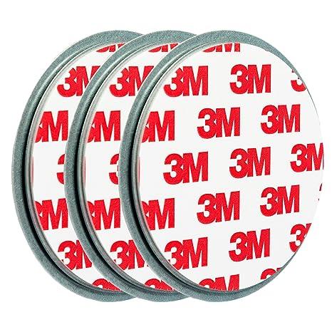 ECENCE 3X fijación para pequeño Mini Detector de Humo Soporte de imán Soporte magnético imán Ø