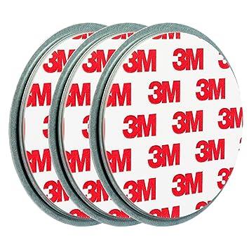 ECENCE 3X fijación para pequeño Mini Detector de Humo Soporte de imán Soporte magnético imán Ø 50mm 71010101: Amazon.es: Electrónica
