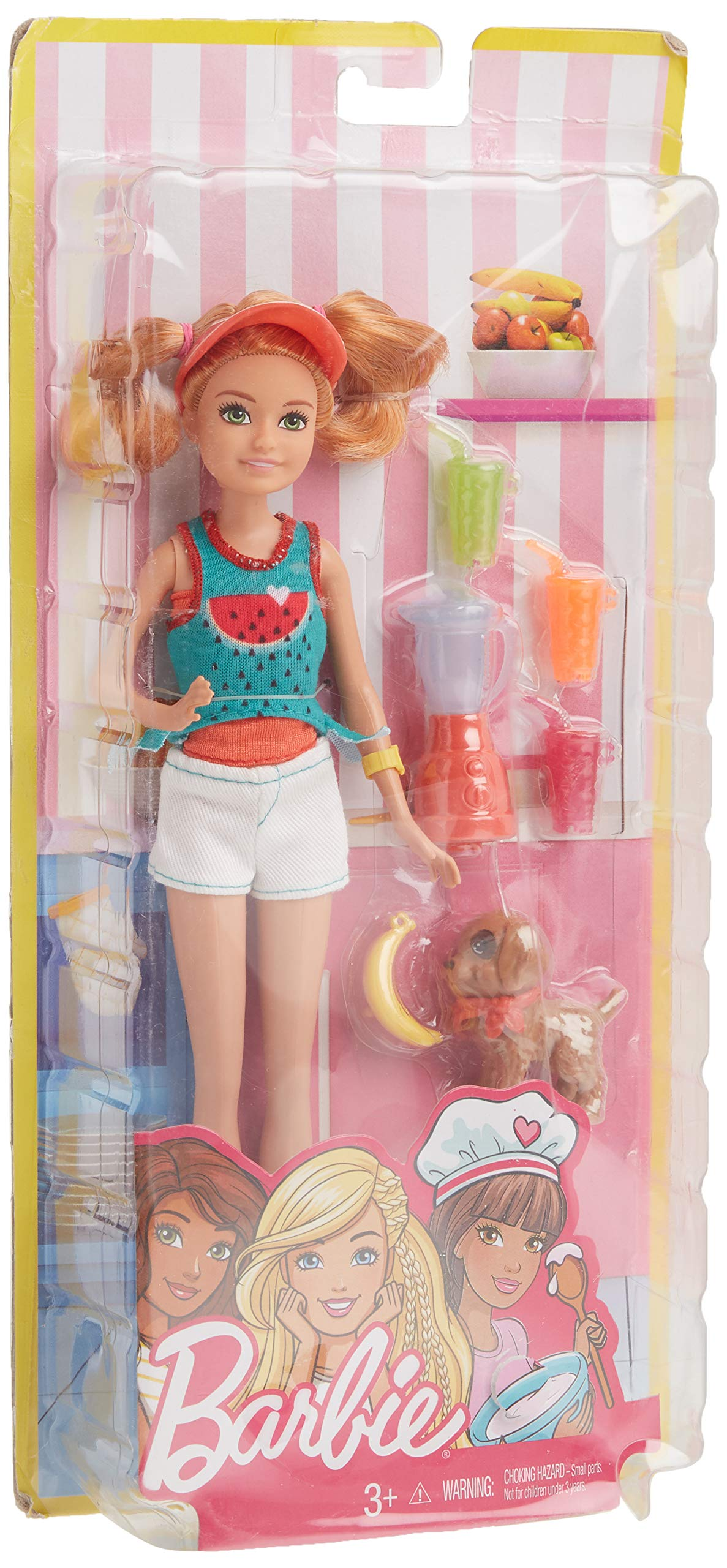 Barbie Stacie Doll Playset with Juice & Puppy
