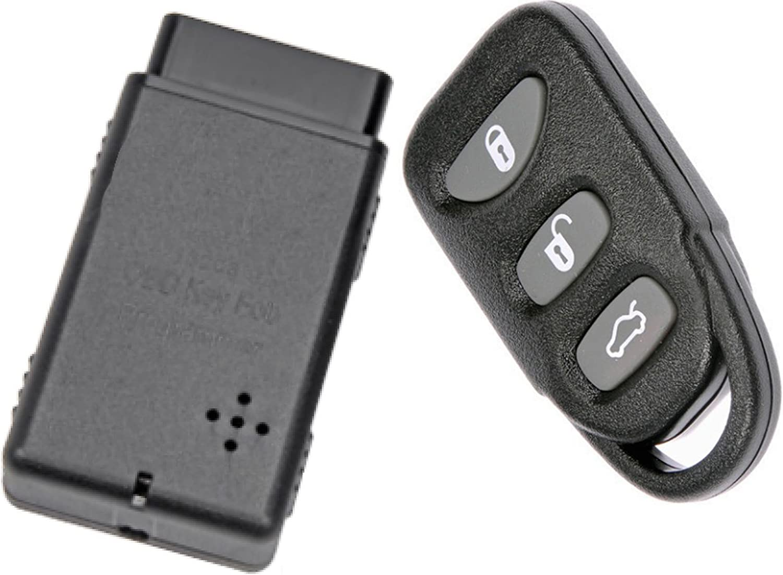 Amazon Com Apdty 133775 Replacement Keyless Entry Remote Key Fob With Auto Programmer Fits 2006 2014 Hyundai Sonata 2007 2015 Hyundai Elantra Replaces 954303k202 954303q000 954303q001 954303x500 Automotive