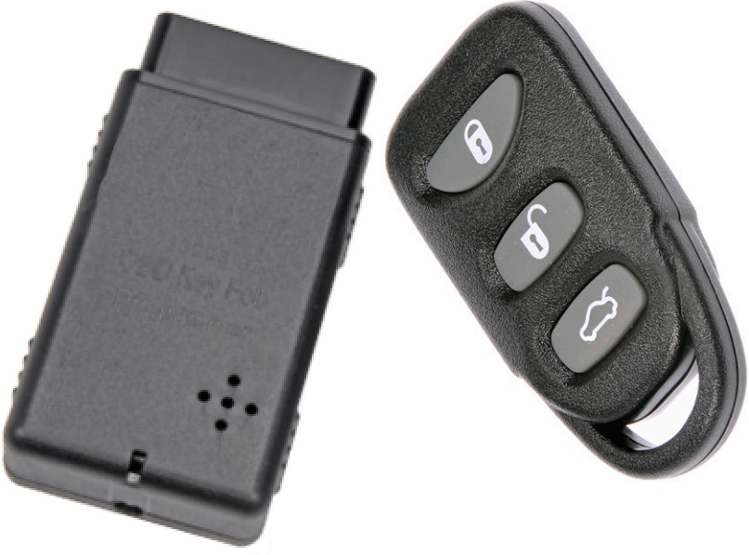 APDTY 133775 Replacement Keyless Entry Remote Key Fob With Auto Programmer Fits 2006-2014 Hyundai Sonata 2007-2015 Hyundai Elantra (Replaces 954303K202, 954303Q000, 954303Q001, 954303X500) by APDTY