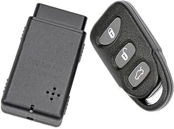 Apdty 133775 Replacement Keyless Entry Remote Key Fob With Auto Programmer Fits 2006 2014 Hyundai Sonata 2007 2015 Hyundai Elantra Replaces