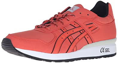Asics GT-II red / white Boys Running shoes Low