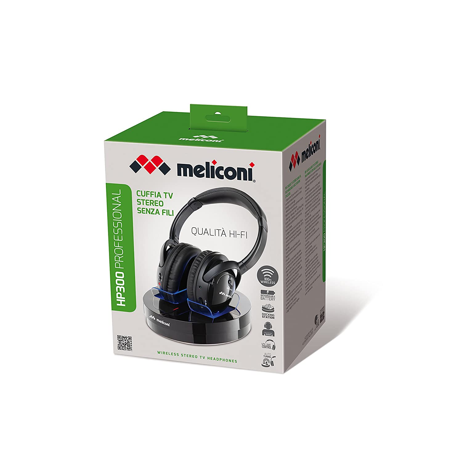 Meliconi Hp 300 Professional -Wireless Tv Stereo  Amazon.co.uk  Electronics 09b693d5f136