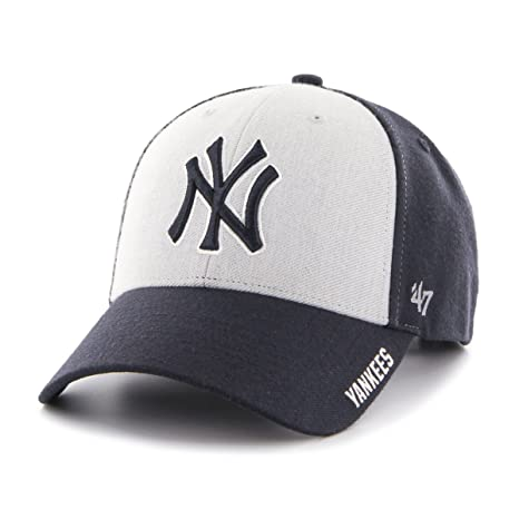 newest 22cbe 00cf9  47 MLB New York Yankees Beta MVP Adjustable Hat, One Size, Navy