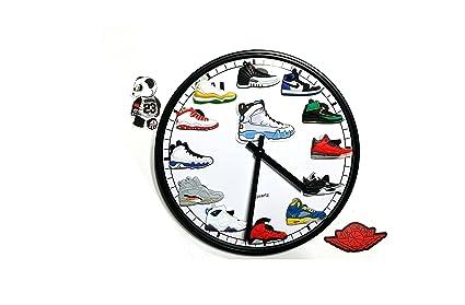 246371ce2314 Amazon.com  Jordan Retro 1-12 (3-D) Retro 9 Wall Clock  Home   Kitchen