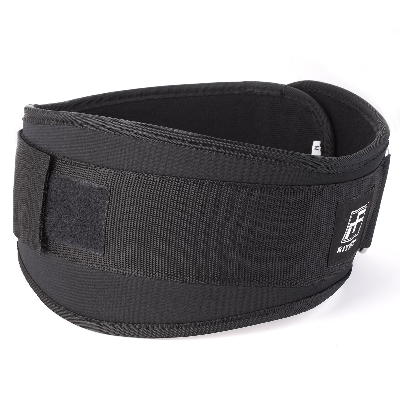 RitFit Weight Lifting Belt - Great for Squats, Clean, Lunges, Deadlift, Thrusters - Men and Women - 6 Inch - Multiple Color Choices - Firm & Comfortable Lumbar Support with Back Injury Protection by RitFit (Image #2)