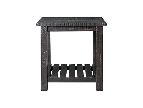 Martin Svensson Home End Table, Antique Black