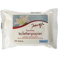 Varje dag toalettpapper – fuktig – sensitv, 70 stycken, 243 g