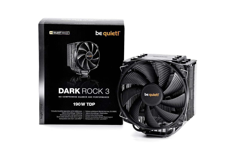 Be quiet Dark Rock 3 - Ventilador de CPU, Color Negro