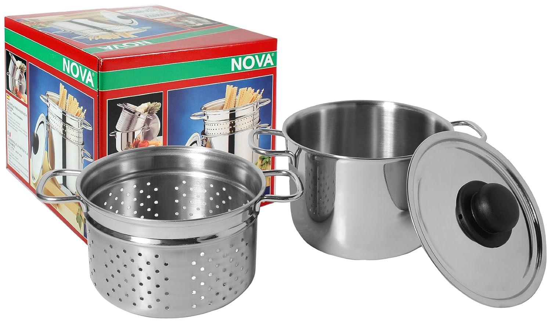 Frabosk Arianna Pasta Pot, Steel, 3.5 Litres, 18 cm Diameter 13192700