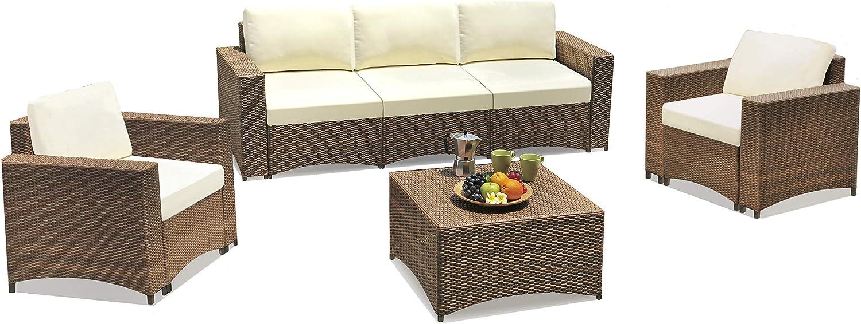 Amazon Com W Unlimited Studio Shine Collection Modular Conversation Set With 3 Seater Sofa 4 Pcs Dark Brown Furniture Decor