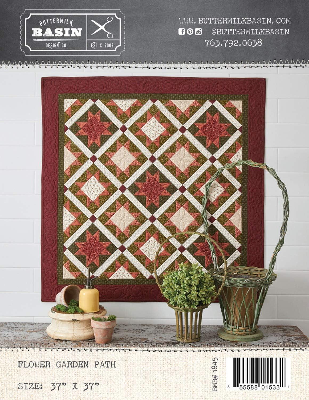 Flower Garden Path Quilt Pattern - by Buttermilk Basin - BMB 1845