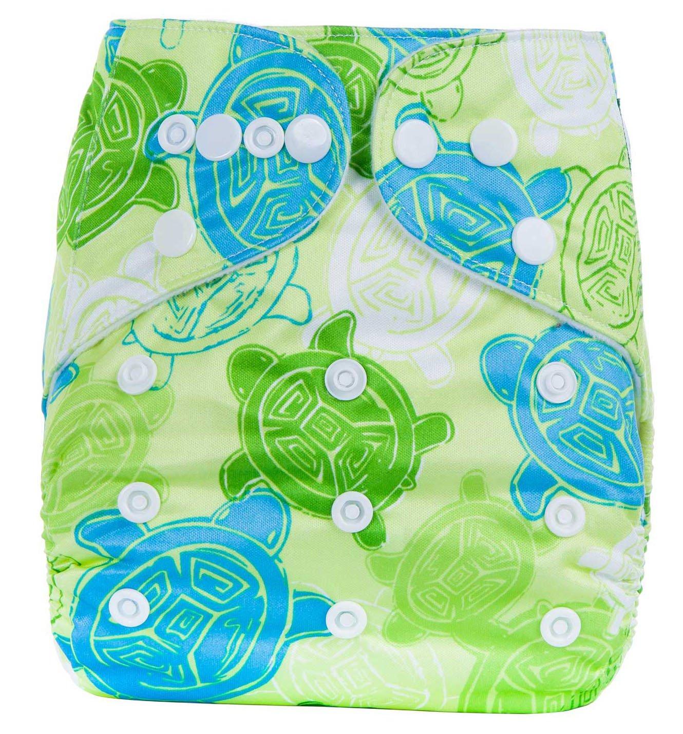 Bebé Pañales Lavables Reutilizable Pantalones de Entrenamiento Transpirable Sin Escapes Unisex Lindo talla única ?0-3 años? AnAnBaby