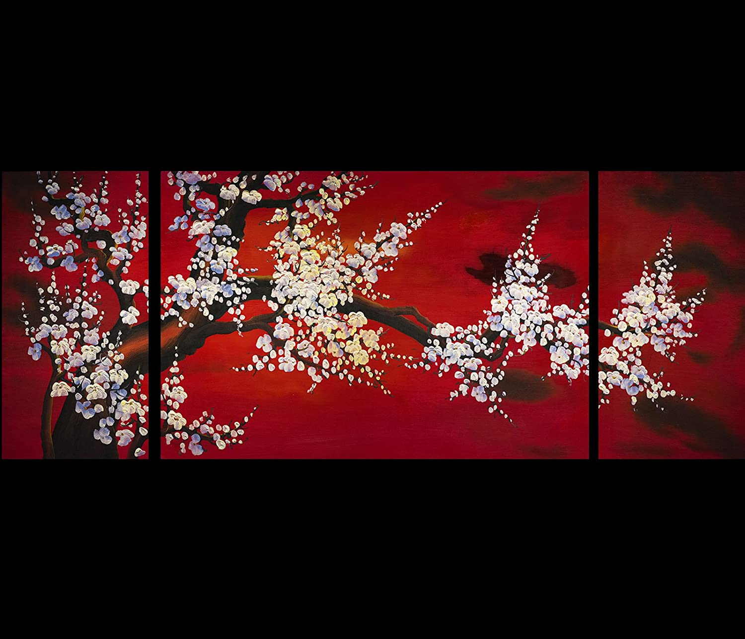 Amazon.com: Abstract Art Plum Blossom Chinese Feng Shui Painting: Oil  Paintings: Paintings