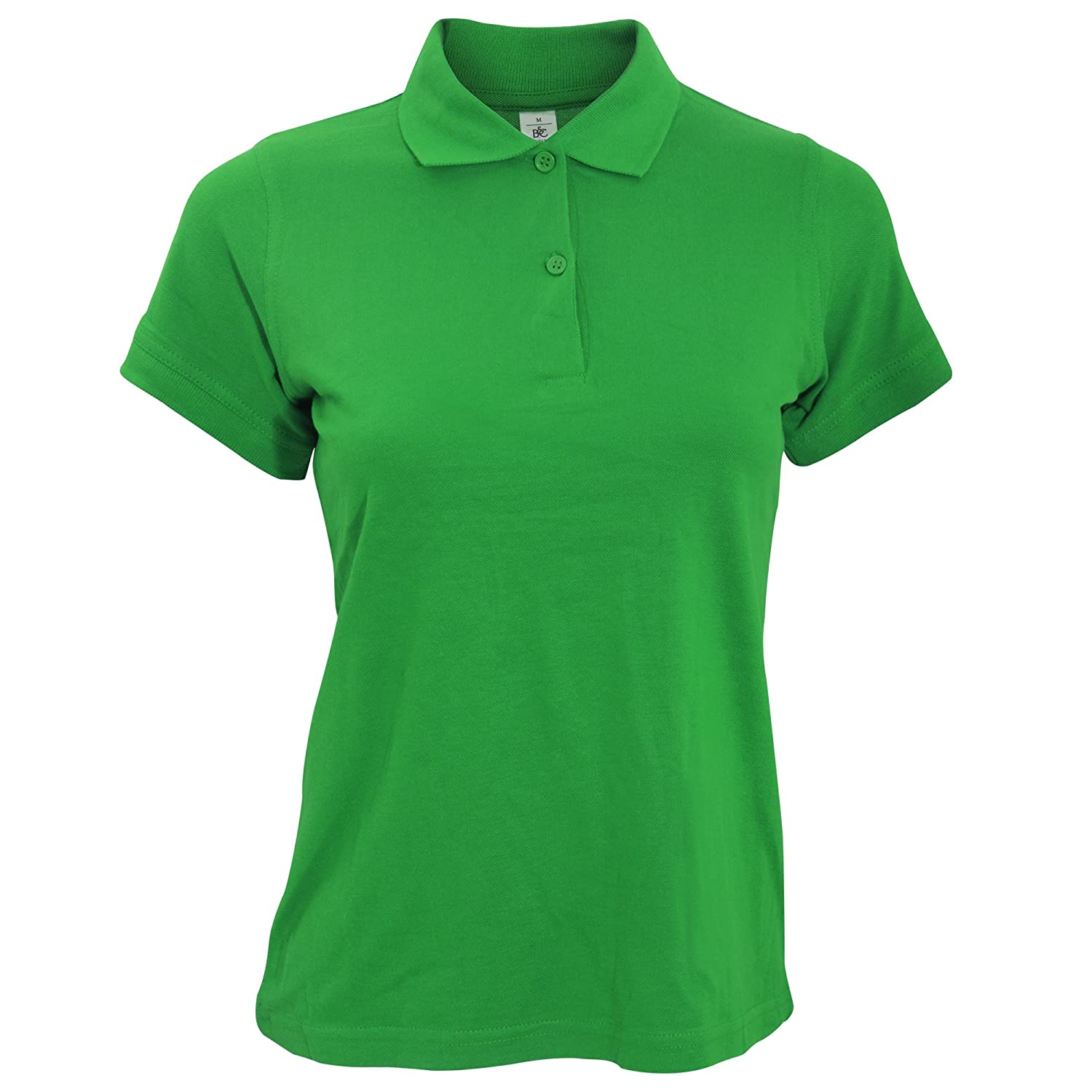 B&C Safran Pure Ladies Short Sleeve Polo Shirt B and C