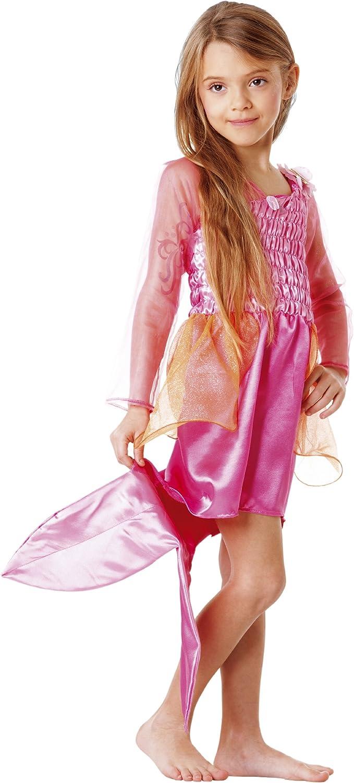 Amazon.es: Mattel - Disfraz de Barbie sirena para niña (de 5/7 ...