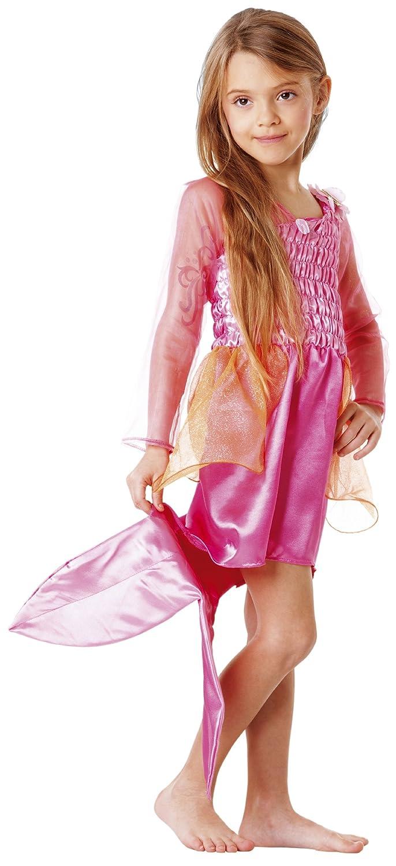 Amazon.es: Mattel Disfraz de Barbie sirena para niña (de 5/7 años ...