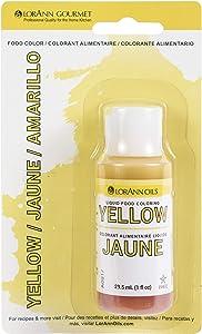 Liquid Food Color 1oz-Yellow