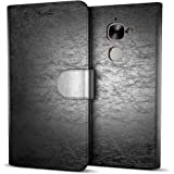 MTT® Premium Leather Flip Wallet Case with Card Slot for LeEco Le 2 (Black)
