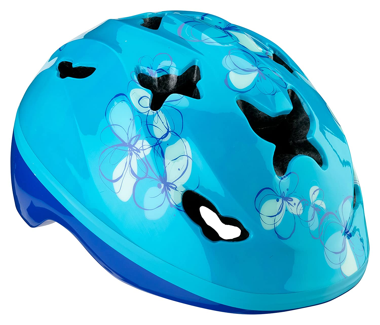 Schwinn Monarch Child Girls Helmet, Teal Blue