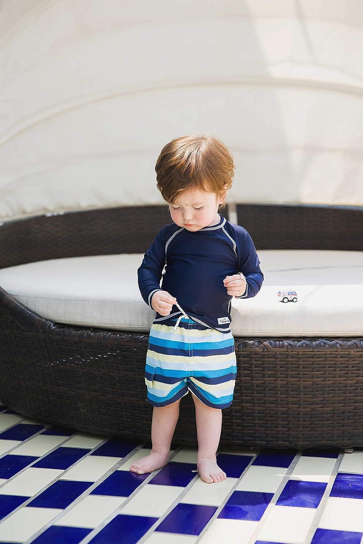 RASHGUARD SHIRT UPF SWIM WATER BABY BOYS INFANTS TODDLER SHORT SLEEVES CHILDRENS