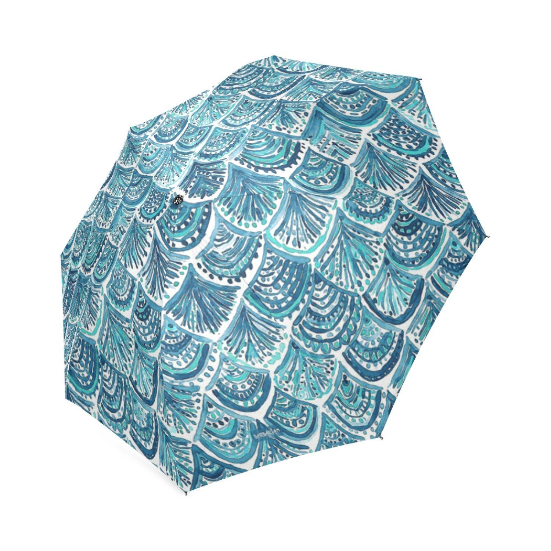 best Personalized Like A Mermaid Portable Fashion Foldable Umbrella