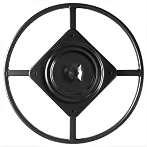 """chairpartsonline 22"""" Replacement Ring Base w/Swivel for Recliner Chairs & Furniture, Includes Swivel - S5469-A"""