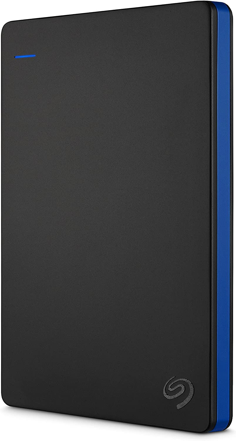 Seagate Game Drive for PS4 Systems 2TB External Hard Drive Portable HDD – USB 3.0, Officially Licensed Product (STGD2000100) (Renewed)