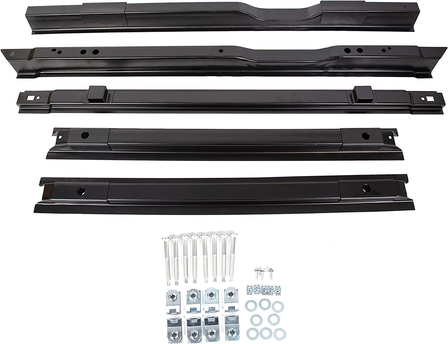 KUAFU Long Truck Bed Floor Support Kit Cross Member Kit Replacement for BC3Z9911215A YC3Z9911215BA Fits Ford F250 F350 F450 1999-2018