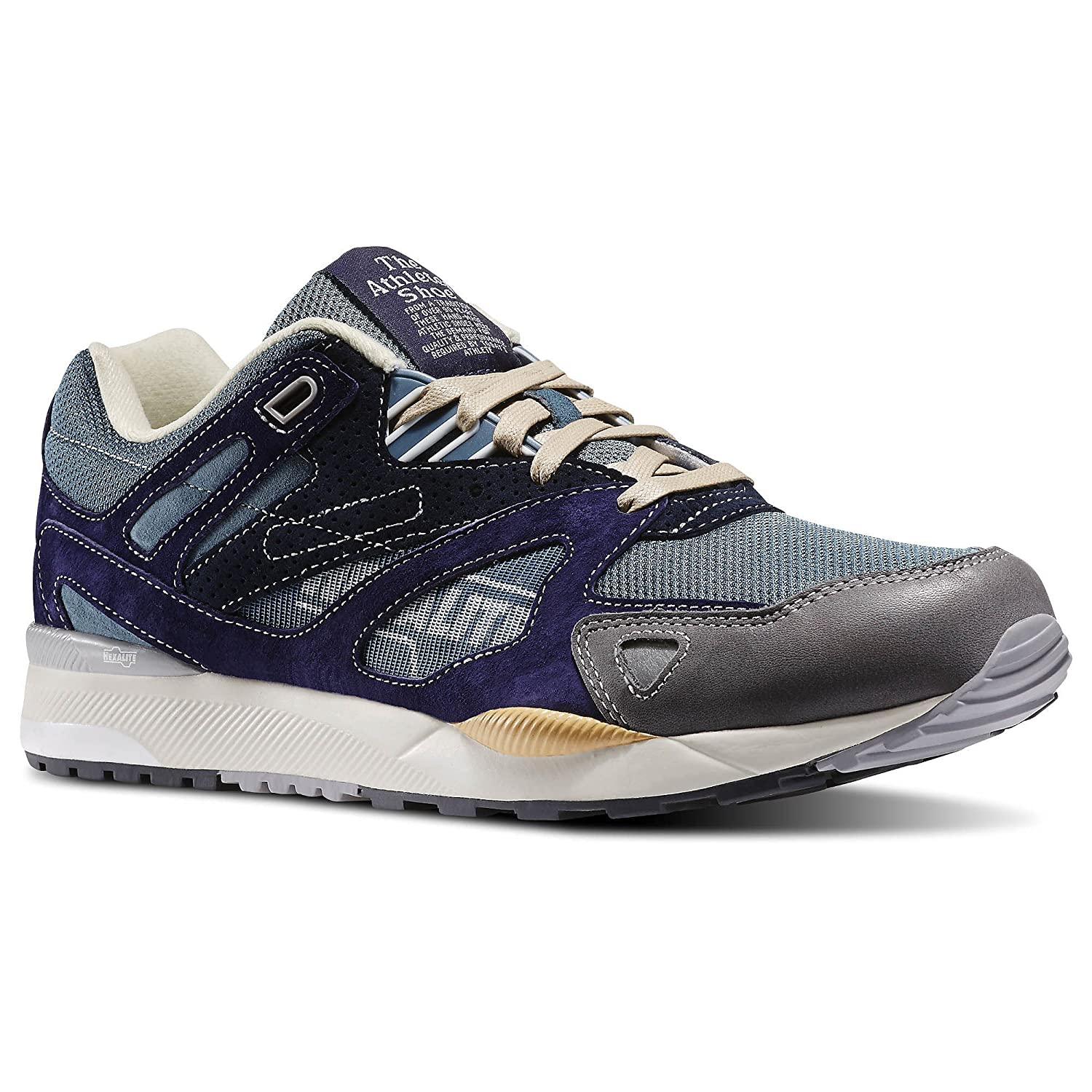 6ff4b88d2fb Reebok GS Ventilator II Mens Running Shoe 15 Stormy Blue-Wicked Blue-Cyclone  Grey  Amazon.ca  Shoes   Handbags