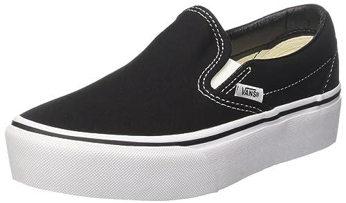 Sin On Para Zapatillas Classic Vans Cordones Slip Mujer Platform nFxOqOwXp 4f8eb1f5af0