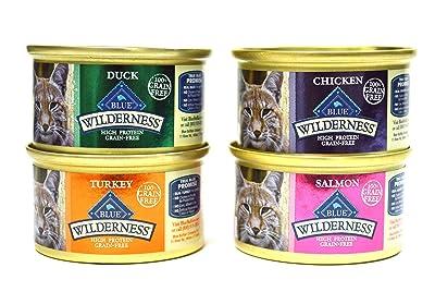 Blue Buffalo Wilderness Grain-Free Variety Pack Cat Food