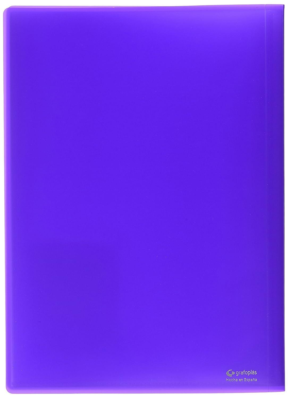 viola Grafoplas 1155720-Cartellina di 20 buste colore