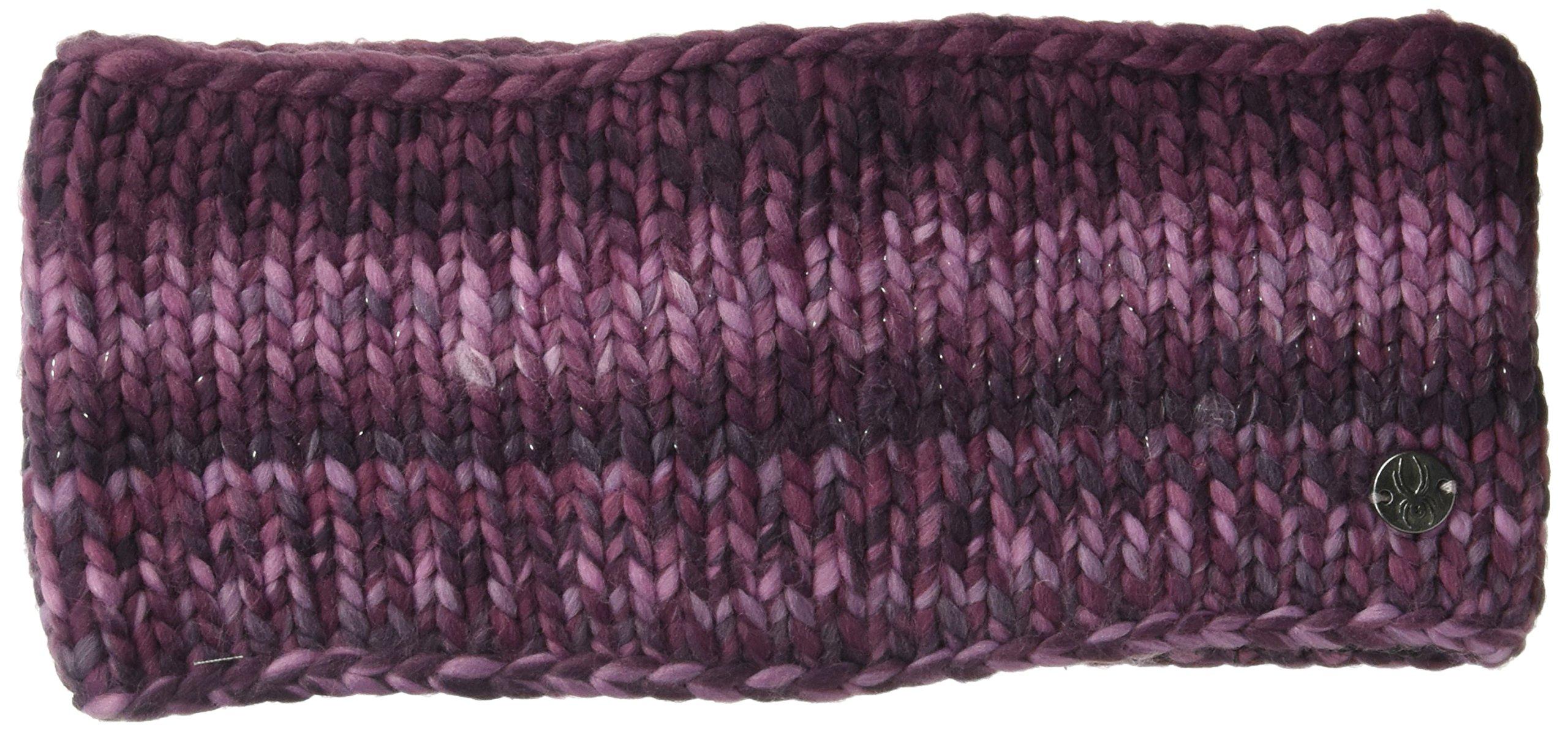 Spyder Women's Twisty Headband, Nightshade/Amaranth/Grape, One Size