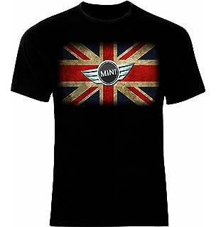 ca550aab14e5e1 Brave Soul Herren T-Shirt Marque Original Mini Cooper Aufdruck Kurze ...
