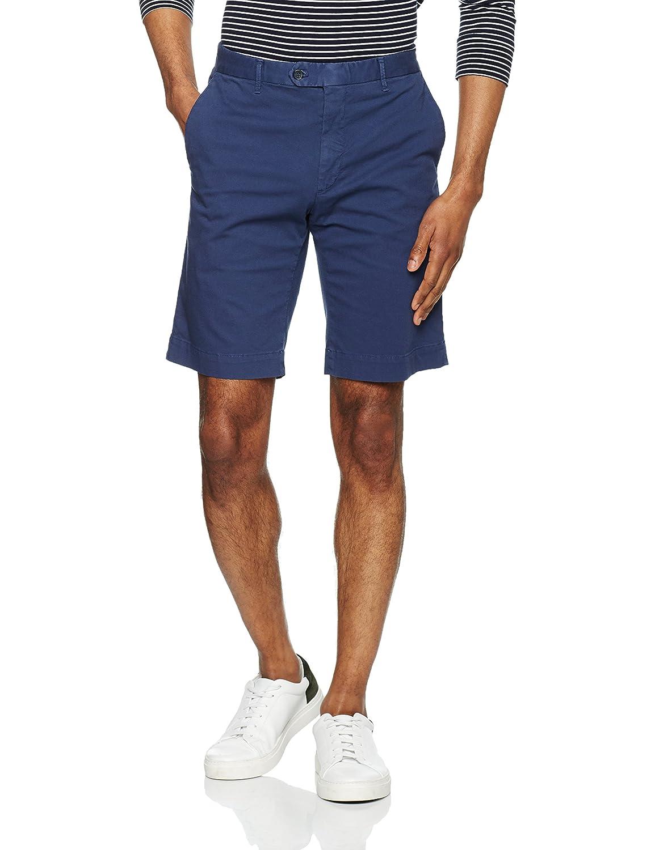 Hackett London GMT Dye Textr Shorts Pantalones Cortos para Hombre