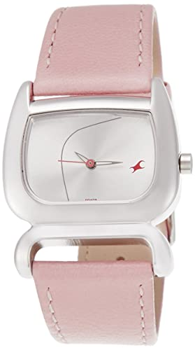 6. Fastrack Fits and Forms Analog Silver Dial Women's Watch