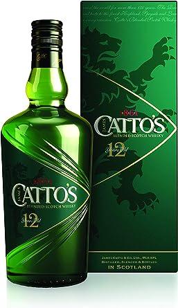 Catto´s, Blended Scotch Whisky 12 Años con Estuche - 700 ml: Amazon.es: Alimentación y bebidas